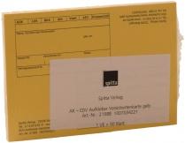 Formulare / Terminkarten (Praxisorganisation)