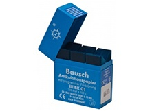 Artikulationspapier, Occlufolie, -sprays (Hilfsmittel für Füllungen)