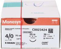 Monosyn® - 0,70m 4/0 DS16 (B. Braun Petzold)