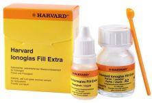Harvard Ionoglas Fill Extra Flüssigkeit + Pulver A2 (Harvard Dental)