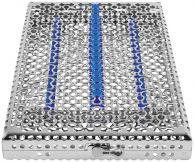IMS Kassette Signature DIN f. 16 Instrumente blau (Hu-Friedy)