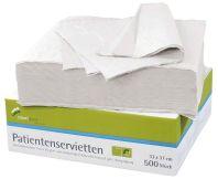 Patientenservietten 2-lagig weiß (smartdent)