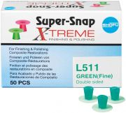 Super-Snap X-Treme  grün, fein, L511 (Shofu Dental)