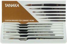 Original TANAKA-Pinsel Set 6 Stück sortiert (Tanaka)