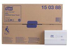 Tork Xpress® Multifold Kart. 20x 37 St. blau (Essity)