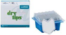 Reflective DryTips® Packung 50 Stück silber, groß (Microbrush International)