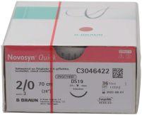 Novosyn® QUICK 2/0 DS19 - 0,70m (B. Braun Petzold)