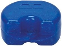 Spangendose metallic glitter blau (Cardex Dental)