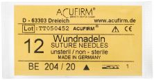 Wundnadeln 12 St. 204BE/20 (Acufirm)