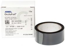 HANEL OccluFoil+ ES 12µ schwarz (Coltene Whaledent)