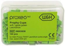 LatchShort Prophy-Kelche weich / apfelgrün (W&H Deutschland)