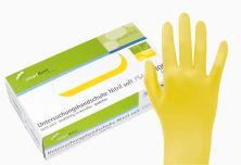 Untersuchungshandschuhe Nitril soft gelb Gr. XS (smartdent)