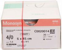 Monosyn® - 6x0,45m 4/0 PreCut (B. Braun Petzold)