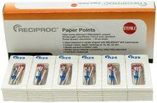 RECIPROC® Papierspitzen Gr. R25 rot (VDW)
