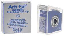 Arti-Fol® metallic 12µ 1-seitig , 20m Spender - 22mm breit - blau (Bausch)