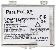 ParaPost® XP™ Ausbrennstifte 10er Gr. 3 braun (Coltene Whaledent)