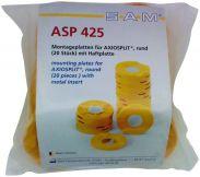 Montageplatten AXIOSPLIT rund (SAM)