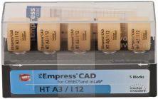 IPS Empress CAD HT I12 A3 (Ivoclar Vivadent)