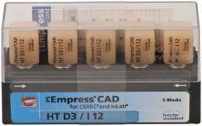 IPS Empress CAD HT I12 D3 (Ivoclar Vivadent)