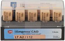 IPS Empress CAD LT I12 A2 (Ivoclar Vivadent)