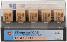IPS Empress CAD LT I12 A3 (Ivoclar Vivadent)