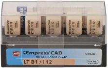 IPS Empress CAD LT I12 B1 (Ivoclar Vivadent)