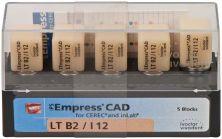 IPS Empress CAD LT I12 B2 (Ivoclar Vivadent)