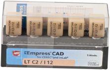 IPS Empress CAD LT I12 C2 (Ivoclar Vivadent)