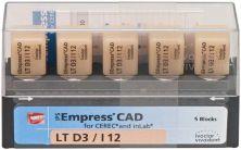 IPS Empress CAD LT I12 D3 (Ivoclar Vivadent)