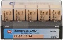 IPS Empress CAD LT C14 A1 (Ivoclar Vivadent)