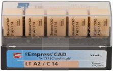 IPS Empress CAD LT C14 A2 (Ivoclar Vivadent)