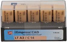 IPS Empress CAD LT C14 A3 (Ivoclar Vivadent)
