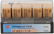 IPS Empress CAD LT C14 A3,5 (Ivoclar Vivadent)