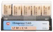 IPS Empress CAD LT C14 B1 (Ivoclar Vivadent)