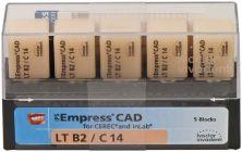 IPS Empress CAD LT C14 B2 (Ivoclar Vivadent)