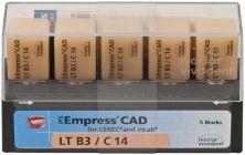 IPS Empress CAD LT C14 B3 (Ivoclar Vivadent)