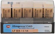 IPS Empress CAD LT C14 D3 (Ivoclar Vivadent)