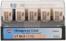 IPS Empress CAD LT I12 BL 3 (Ivoclar Vivadent)