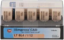 IPS Empress CAD LT I12 BL 4 (Ivoclar Vivadent)