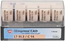 IPS Empress CAD LT C14 BL 3 (Ivoclar Vivadent)