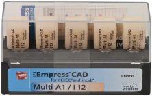 IPS Empress CAD Multi I12 A1 (Ivoclar Vivadent)