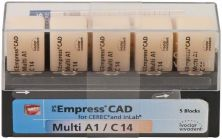 IPS Empress CAD Multi C14 A1 (Ivoclar Vivadent)
