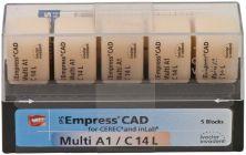 IPS Empress CAD Multi C14L A1 (Ivoclar Vivadent)