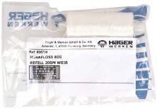 Mirafloss® Big Refill weiß, gewachst (Hager & Werken)