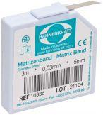 Matrizenband 3m Stärke 0,03mm - Breite 5mm (E. Hahnenkratt)