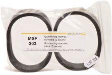 Gummiring schwarz für Splitcastformer Pckg. 2  (SAM)