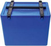 Labor-Container Gr. 4 mit Deckel mit Griff blau (Speiko)