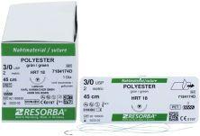 RESORBA® Nahtmaterial POLYESTER - 3/0 HRT18 - 0,45m (Karl Hammacher)