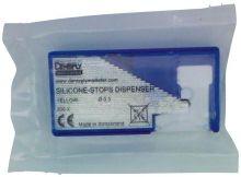 Silicone-Stops Dispenser gelb, vorperforiert (Dentsply Sirona)