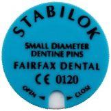 Stabilok Stifte Edelstahl blau fein 20er (Fairfax Dental)